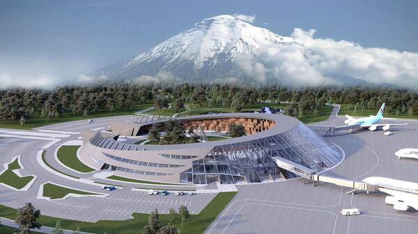Проект международного аэропорта Петропавловск-Камчатский (Елизово)