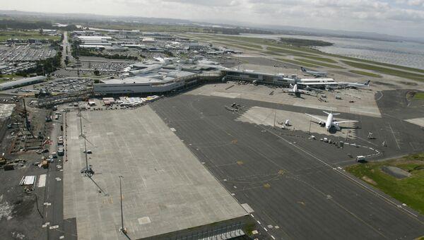 Международный аэропорт в Окленде, Новая Зеландия. Архивное фото