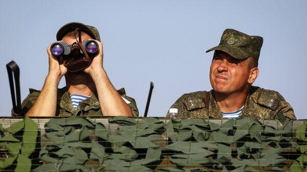 Военнослужащие вооруженных сил РФ во время российско-египетских учений Защитники дружбы-2017. 19 сентября 2017