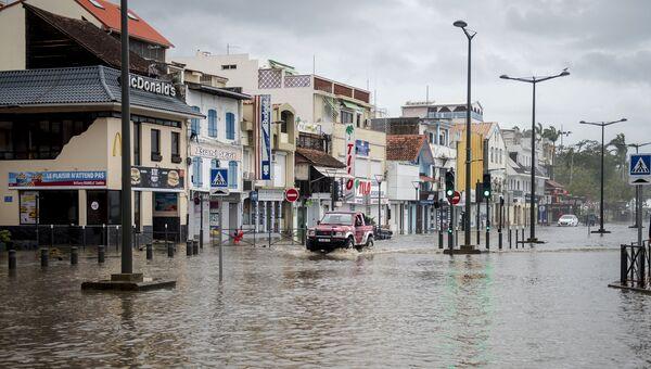 Последствия урагана Мария на острове Мартиника