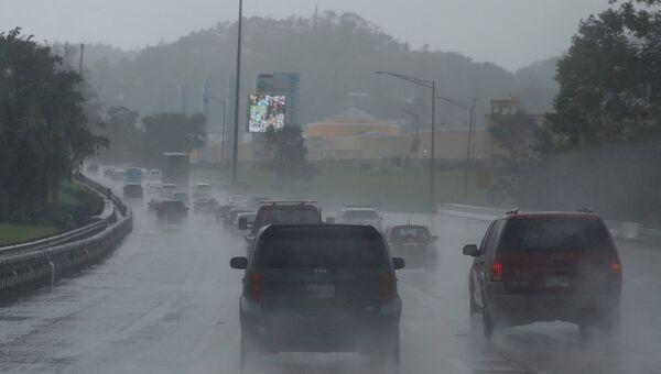 Ураган Мария надвигается на Пуэрто-Рико. 19 сентября 2017