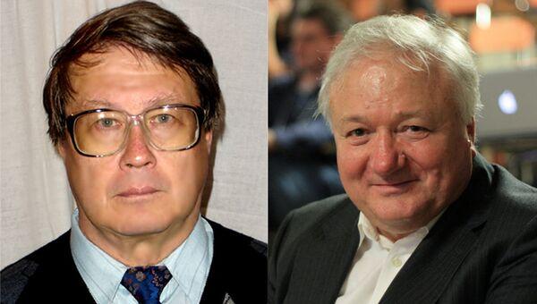 Георгий Шульпин (слева) и Рашид Сюняев (справа)