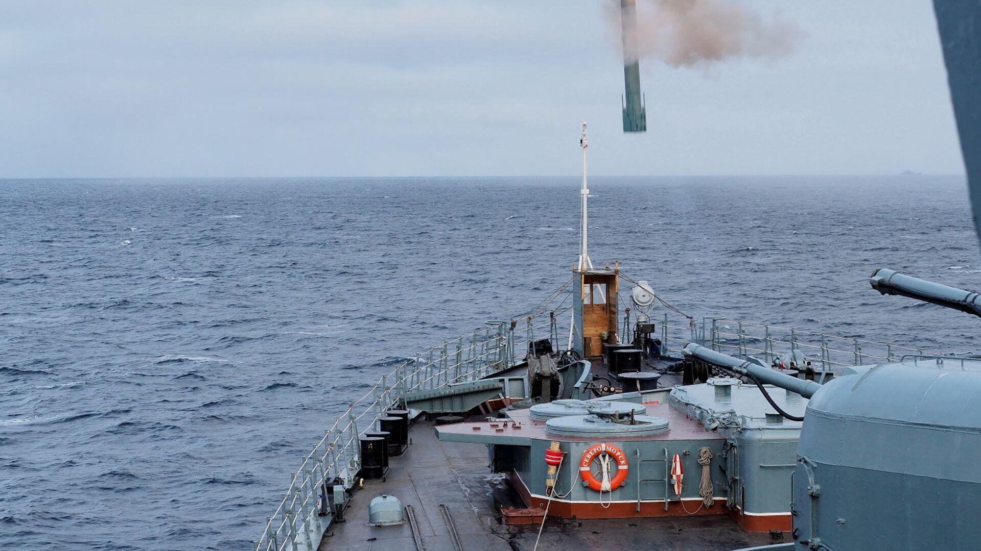 Учения Северного флота в Арктике - РИА Новости, 1920, 21.09.2021