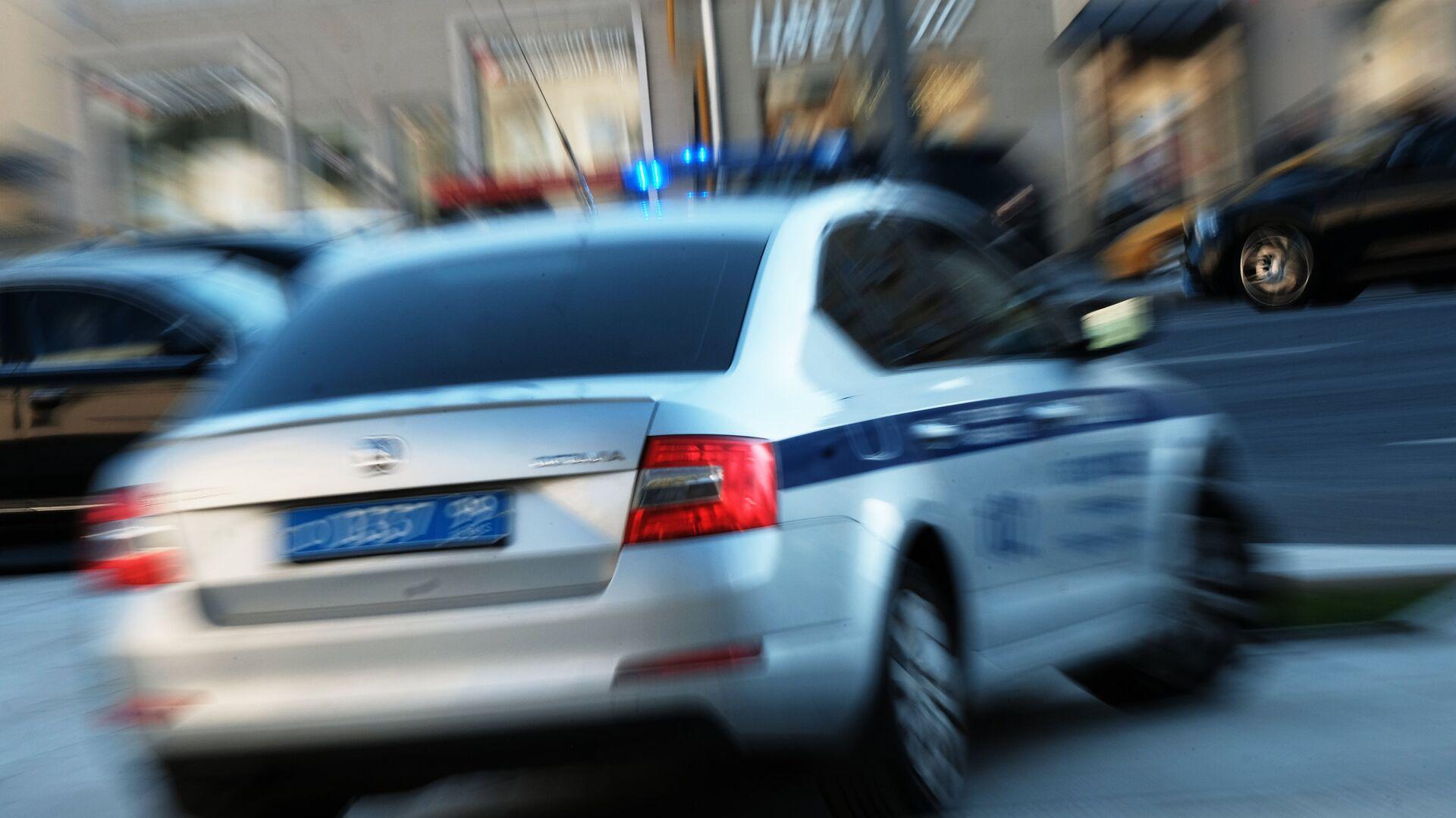 Автомобиль полиции на улице Москвы - РИА Новости, 1920, 06.12.2020