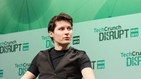 Создатель социальной сети ВКонтакте и мессенджера Telegram Павел Дуров
