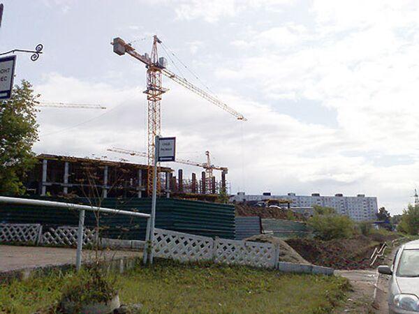 Обрушение торгового центра в Новосибирске