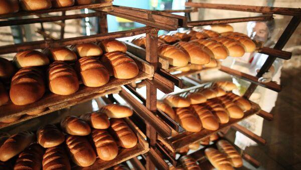 Выпечка хлеба на Полесском хлебозаводе