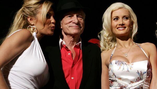 Основатель журнала Playboy Хью Хефнер. Архивное фото
