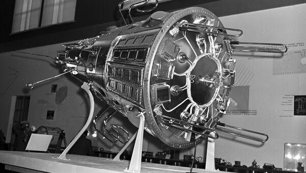 Модель третьего советского искусственного спутника Земли