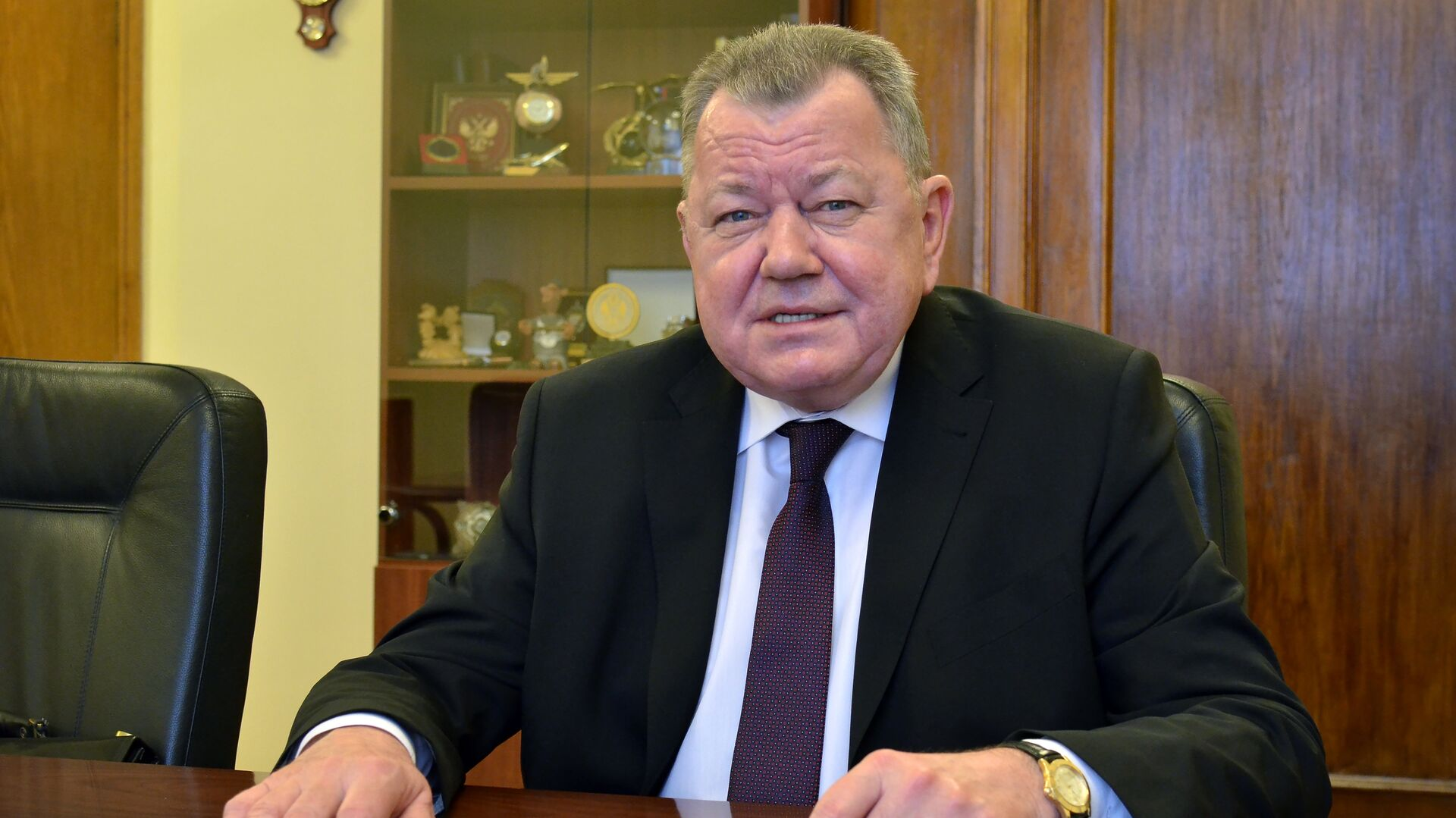 Заместитель министра иностранных дел РФ Олег Сыромолотов - РИА Новости, 1920, 12.05.2021