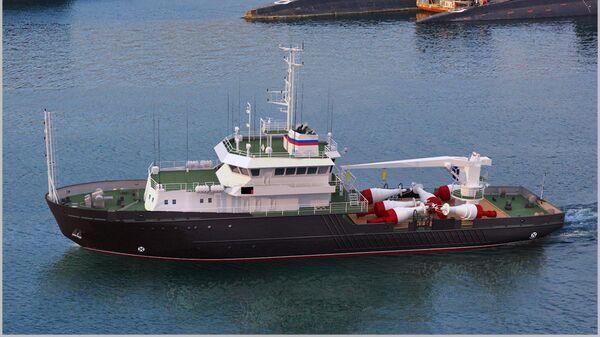 Новейшее гидрографическое судно проекта 19910