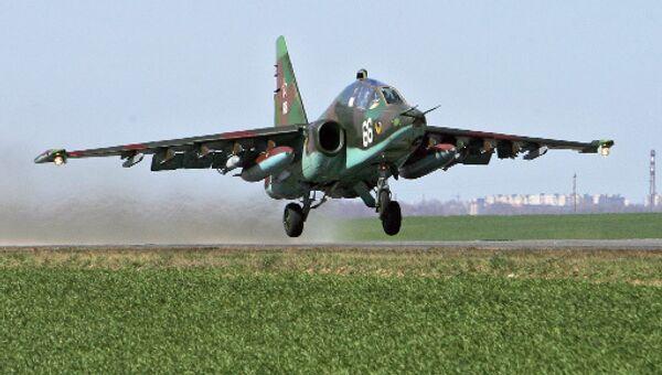 Самолет Су-25. Архив