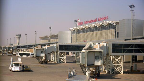 Аэропорт Эрбиля Эрбиль Иракский Курдистан 28 сентября 2017