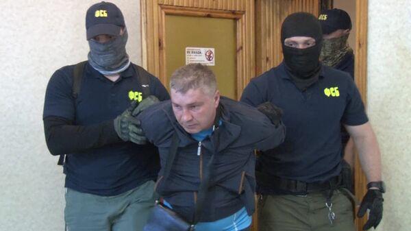 Дмитрий Долгополов, задержанный ФСБ РФ в Симферополе по обвинению в передаче спецслужбам Украины сведений, составляющих государственную тайну. 29 сентбря 2017