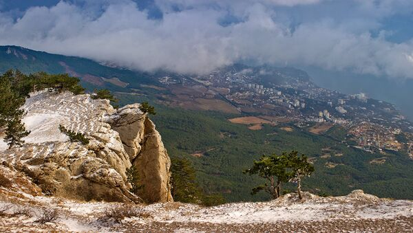 Вид на побережье Черного моря. Архивное фото