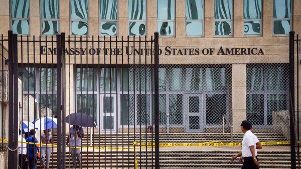 Посольство США в Гаване, Куба. 29 сентября 2017