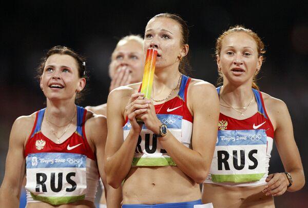 Россиянки рассчитывали на бронзу ЧМ в эстафете 4х100 метров