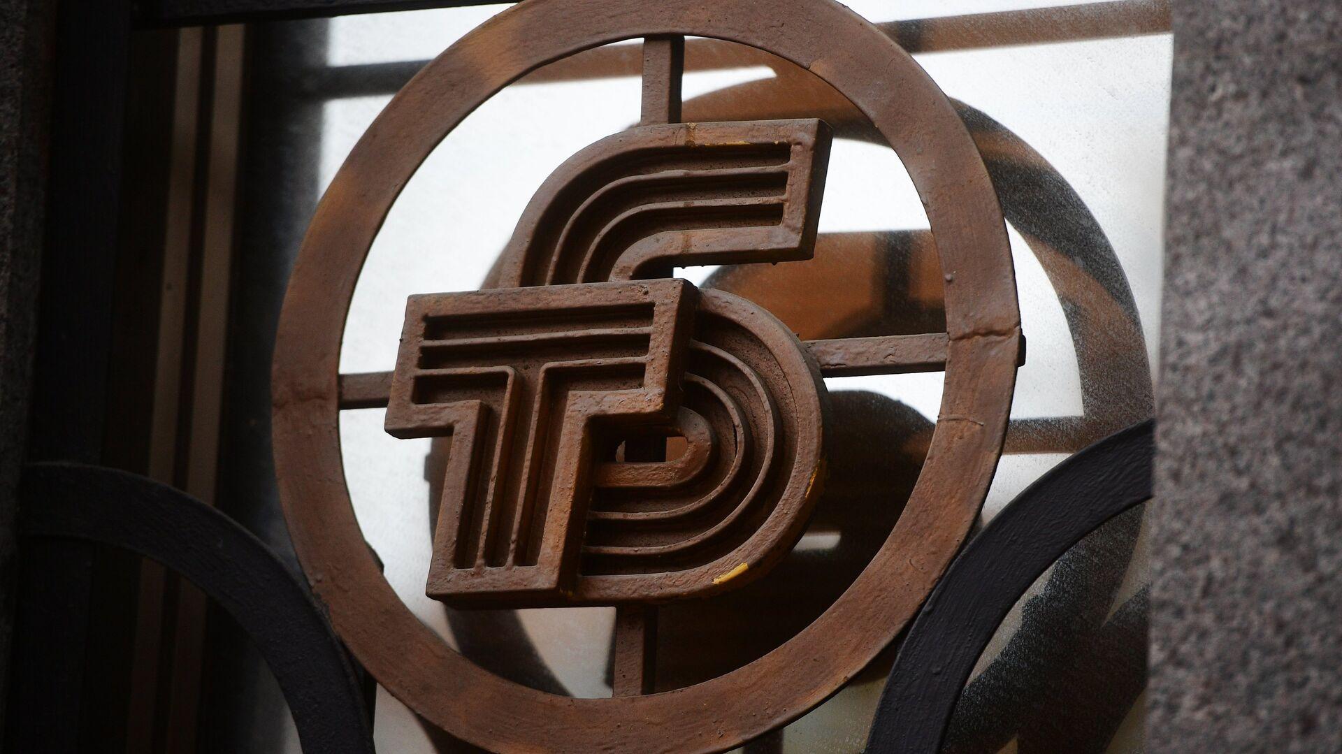 Эмблема на здании Темпбанка в Москве. 2 октября 2017 - РИА Новости, 1920, 26.02.2021