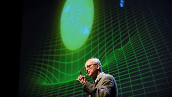 Американский физик Райнер Вайсс. 2016 год