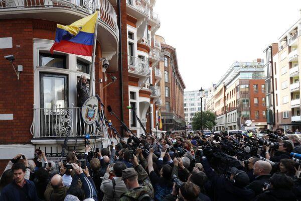 Посольство Эквадора в Лондоне