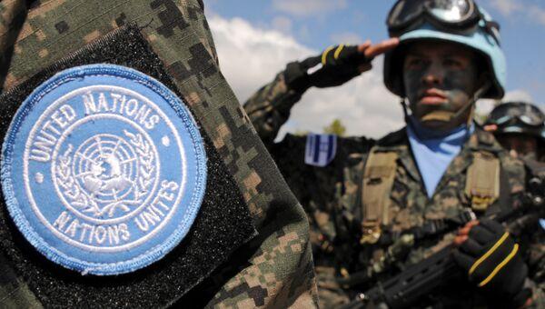 Миротворцы ООН из Гондураса