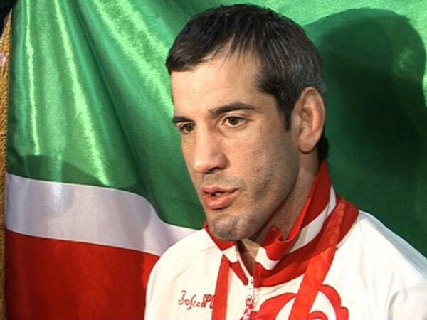 Мне почетно стать трехкратным олимпийским чемпионом – Буйвасар Сайтиев
