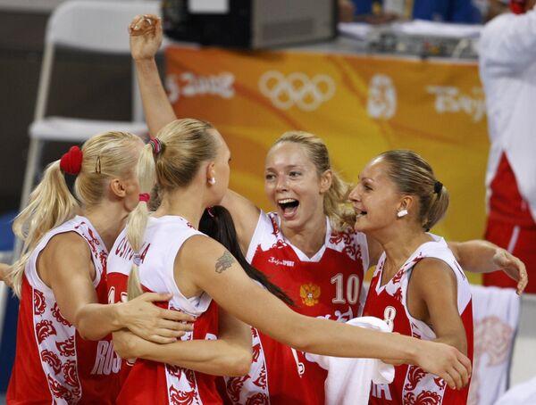 Российские баскетболистки