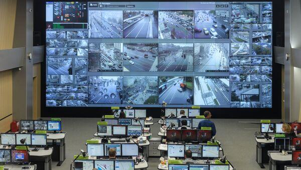 Работники ситуационного центра службы ЦОДД Дорожный патруль