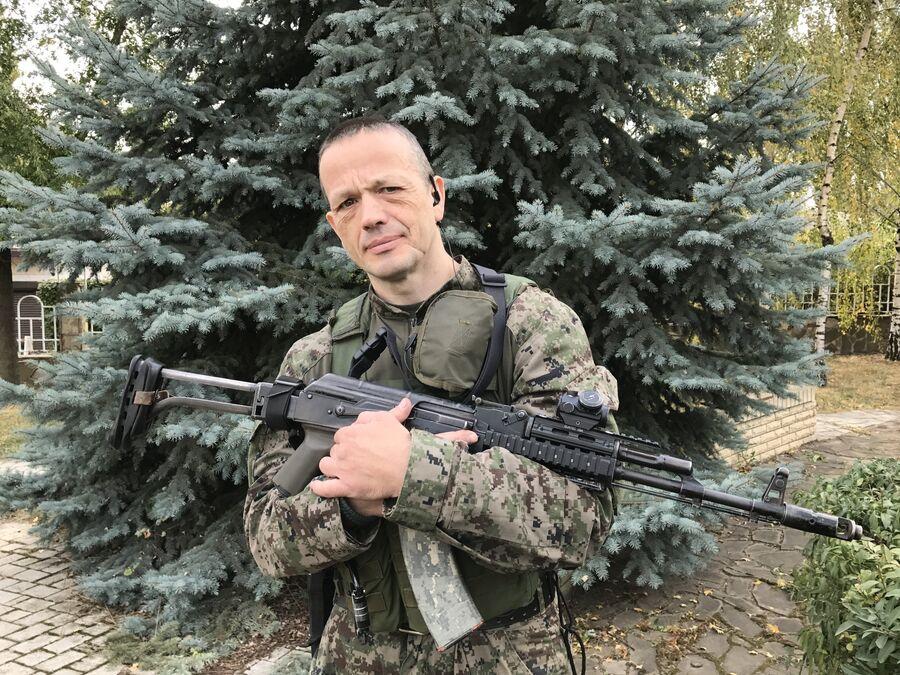 Боец разведывательно-штурмового батальона Сергей, позывной Шаман, Донбасс