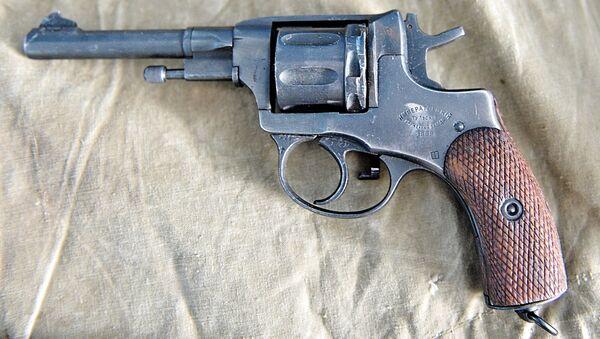 Револьвер системы Нагана. Архивное фото