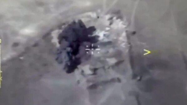 Авиаудары российских ВКС по объектам террористов в Сирии. 10 октября 2017