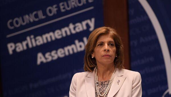 Председатель Парламентской ассамблеи Совета Европы (ПАСЕ) Стелла Кириакидес