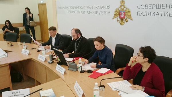 Кузнецова представила дорожную карту развития паллиативной помощи детям