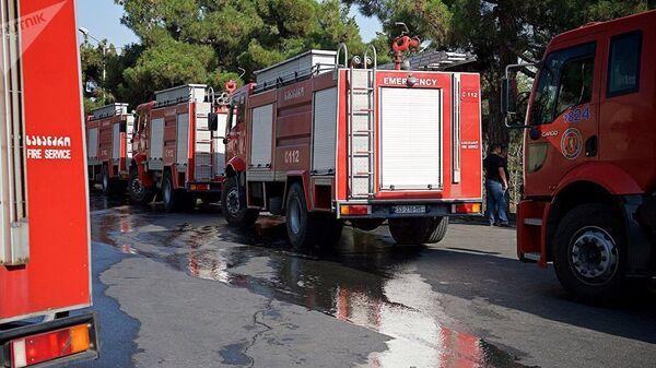 Автомобили пожарной службы Грузии