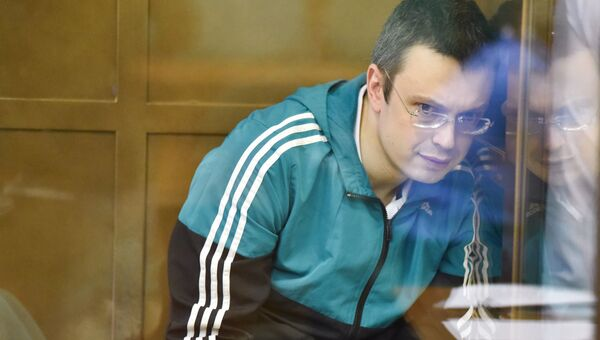 Денис Никандров в Мосгорсуде. Архивное фото