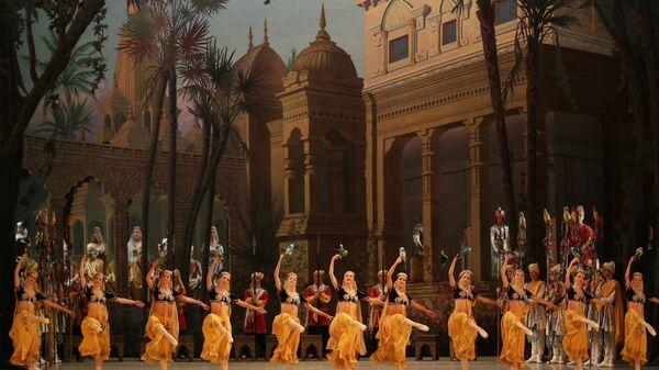 Балет Баядерка в постановке Мариинского театра