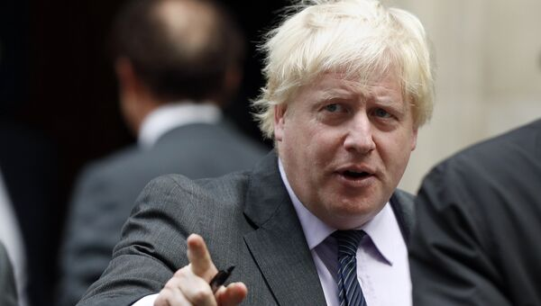 Глава МИД Великобритании Борис Джонсон. 17 октября 2017