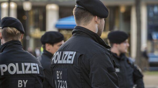 Сотрудники полиции в Германии. Архивное фото