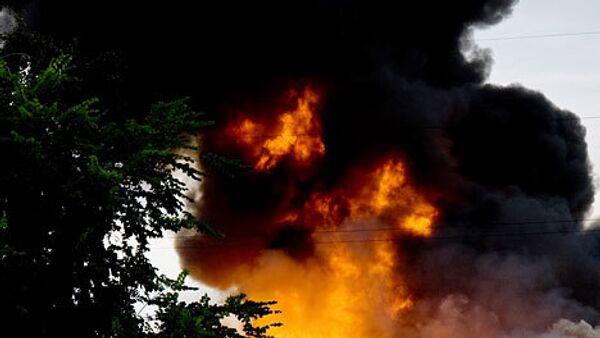 Локализован пожар на горнолыжном курорте Цей в Северной Осетии - МЧС