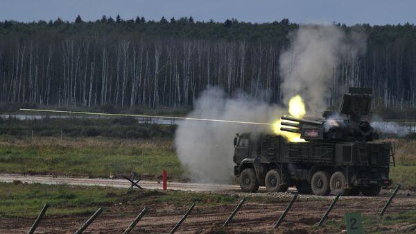 Зенитный ракетно-пушечный комплекс Панцирь-С