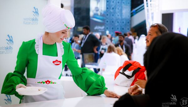 Стенд WorldSkills Kazan 2019. Презентация национальной выпечки