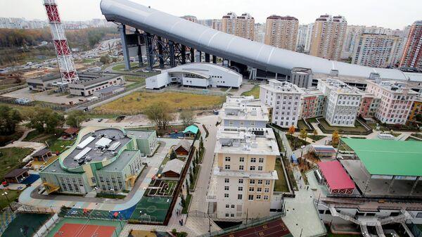 Школа и жилые дома жилого комплекса ART в Красногорске