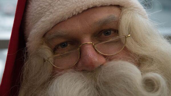 Проводы финского Деда Мороза Йоулупукки из России