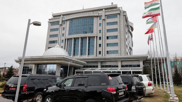 Отель Rixos President в Астане во время проведения переговоров по Сирии