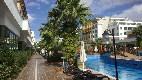 Турецкий отель в Белеке