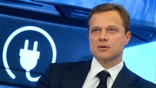 Глава транспортного комплекса Москвы Максим Ликсутов