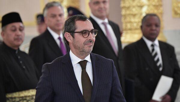 Чрезвычайный и полномочный посол Португальской Республики Паулу Жоао Лопеш ду Регу Визеу Пинейру. Архивное фото