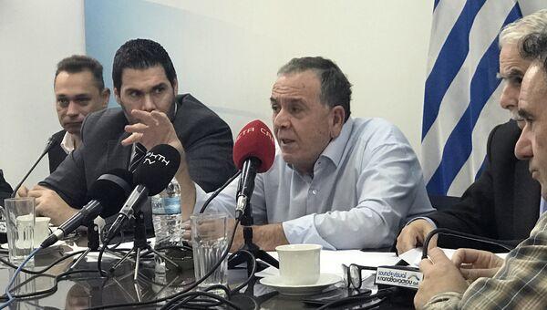Министр миграционной политики Греции Яннис Музалас. 1 ноября 2017