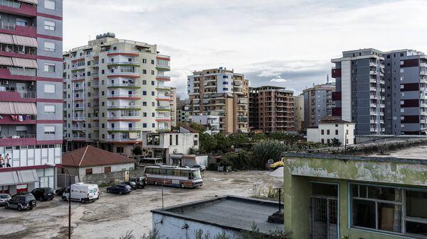 Один из районов города Фир в Албании
