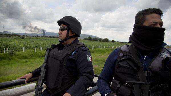 Сотрудники полиции в Мексике